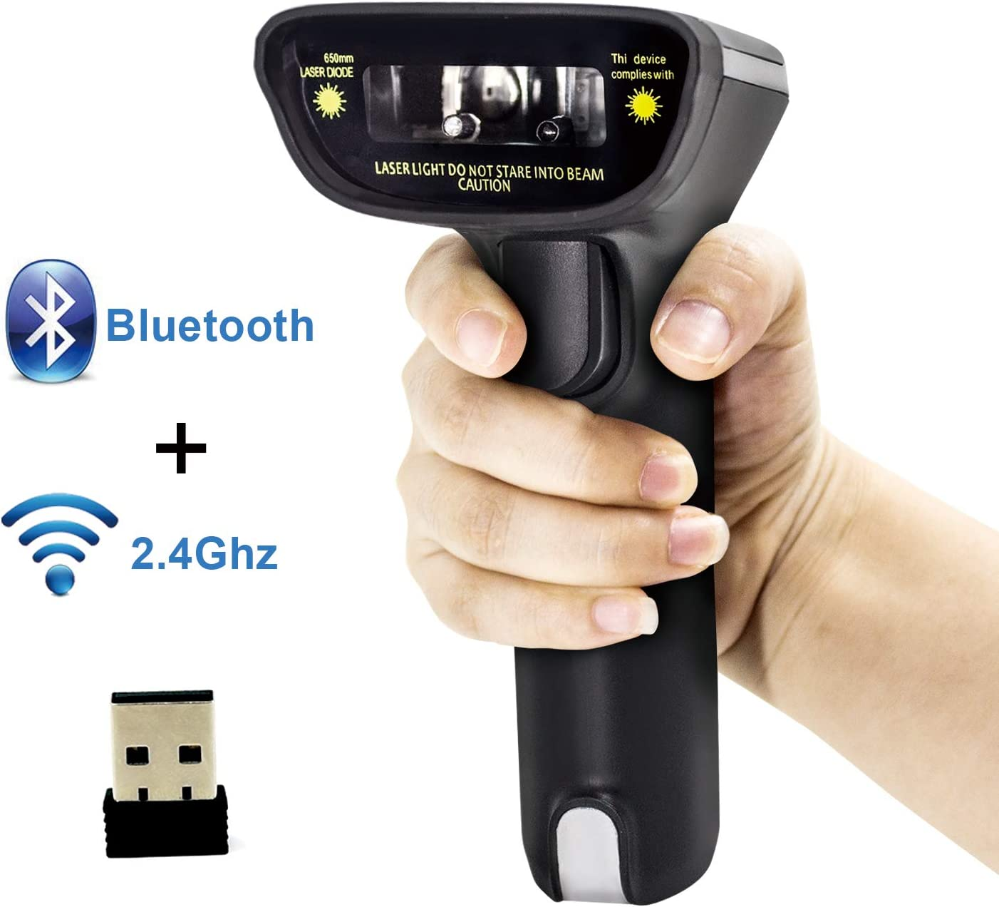 Electronics Office Electronics Wireless Bluetooth Barcode Scanner ...