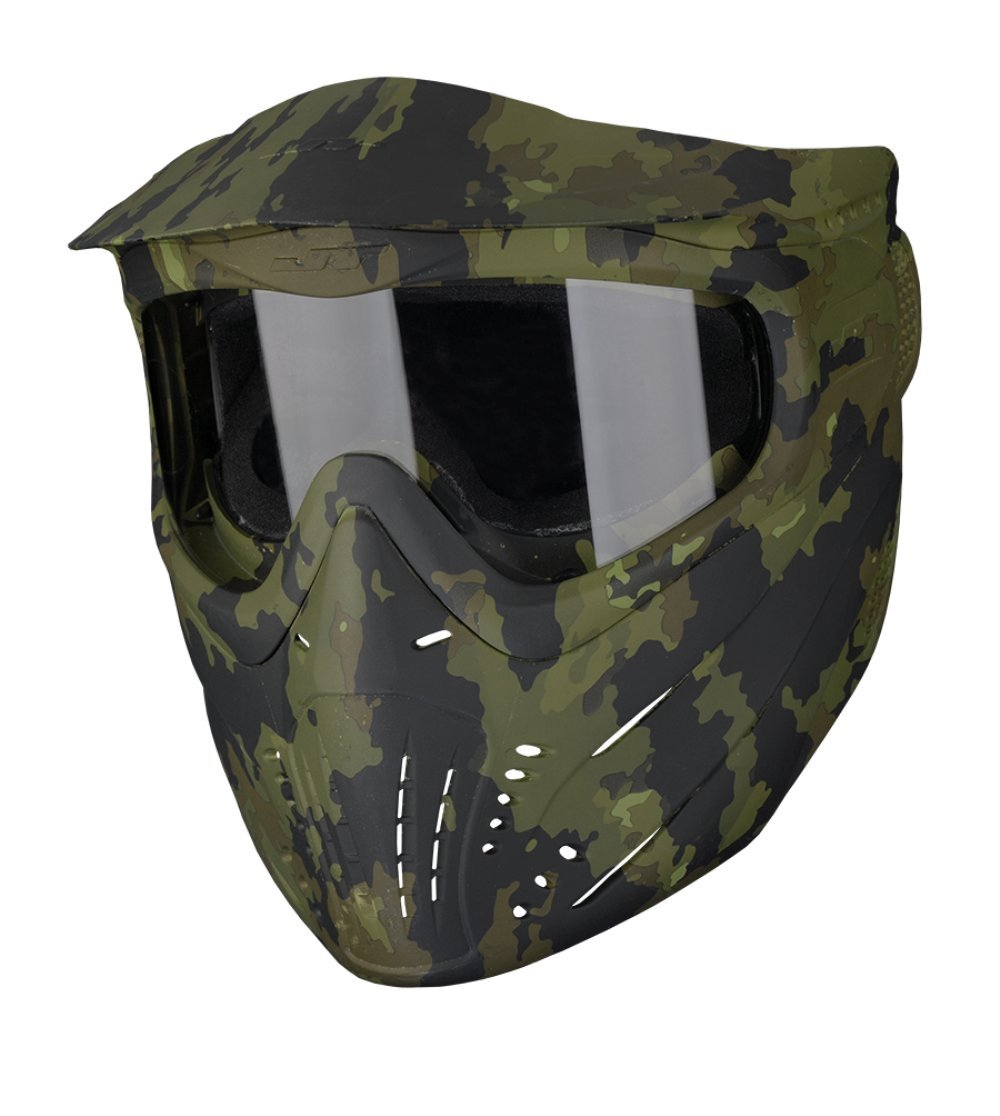 JT Premise Paintball Goggle Single Pane & Clear Lens, Camo, One Size