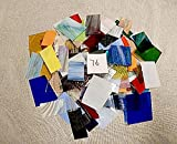 Over 10 LBS LARGE Pieces Spectrum Wissmach Stained Glass Mosaic SCRAP Lot #76
