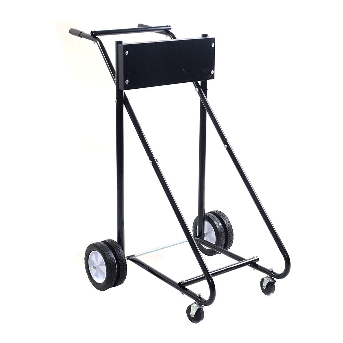 Anofora Boat Motor Stand Carrier Cart Dolly Outboard Storage Pro Heavy Duty 315 LBS