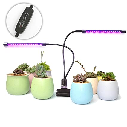 Amazon Com Indoor Plant Led Grow Light Rokkes 18w Growing Lights
