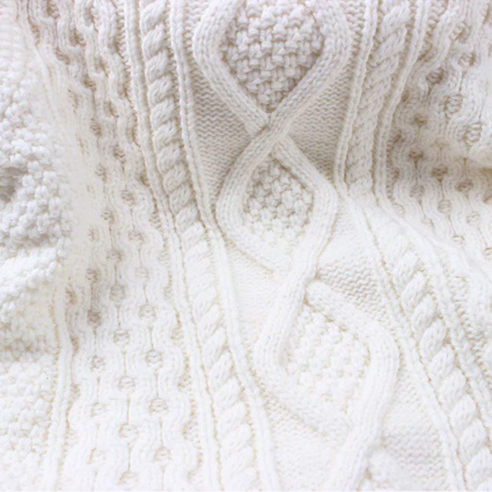 12 Months-10 Years BINPAW Kids Vintage Twist Warm Fleece Lined Sweater