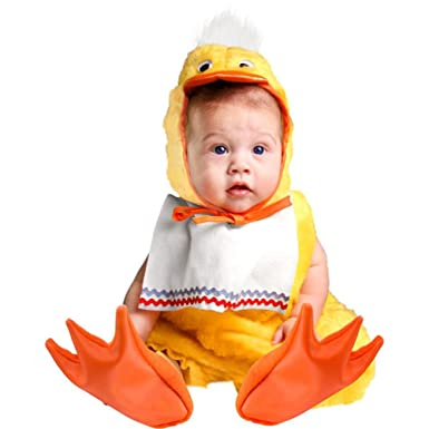 Amazon.com: Charades Baby-girls Cute Duck Halloween Costume: Clothing