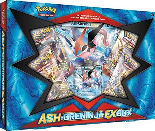 Pokemon TCG: Ash-Greninja-EX Box Pokemon Ash Pikachu