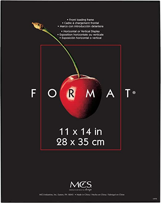 11 by 14-Inch Black MCS 65639 Format Frame 6-Pack