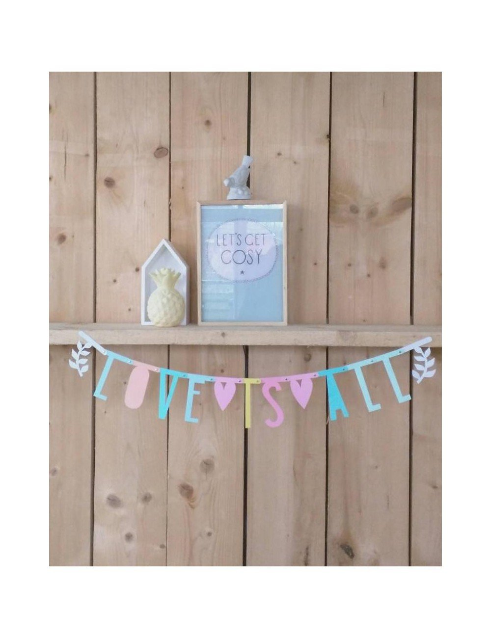 A little lovely Company Banner Color Pastel