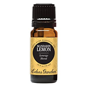 Edens Garden Mandarin Lemon Essential Oil Synergy Blend, 100% Pure Therapeutic Grade (Highest Quality Aromatherapy Oils- Cold Flu & Pain), 10 ml