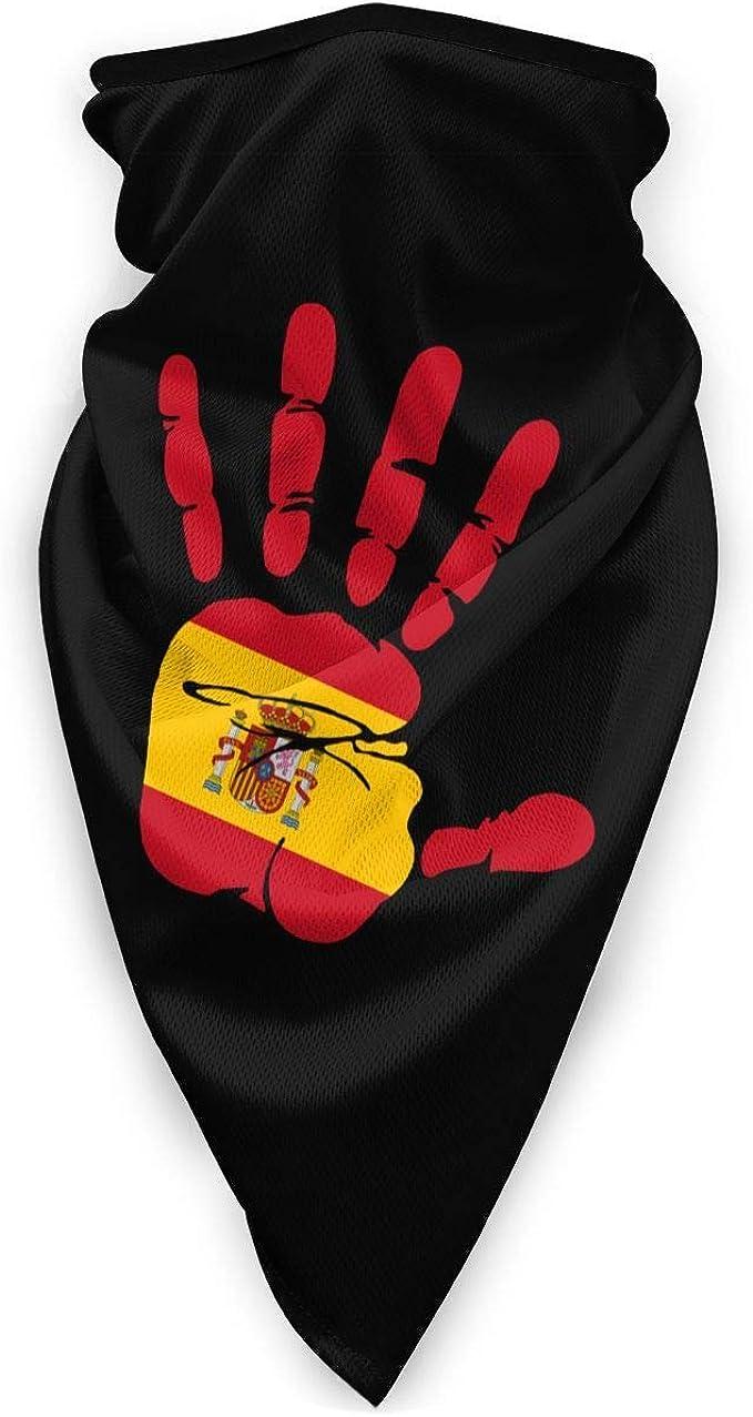 Trista Bauer Handprint Bandera De España Hombres Mujeres Mascarillas Sombreros Sombreros Para Caza Al Aire Libre: Amazon.es: Ropa y accesorios