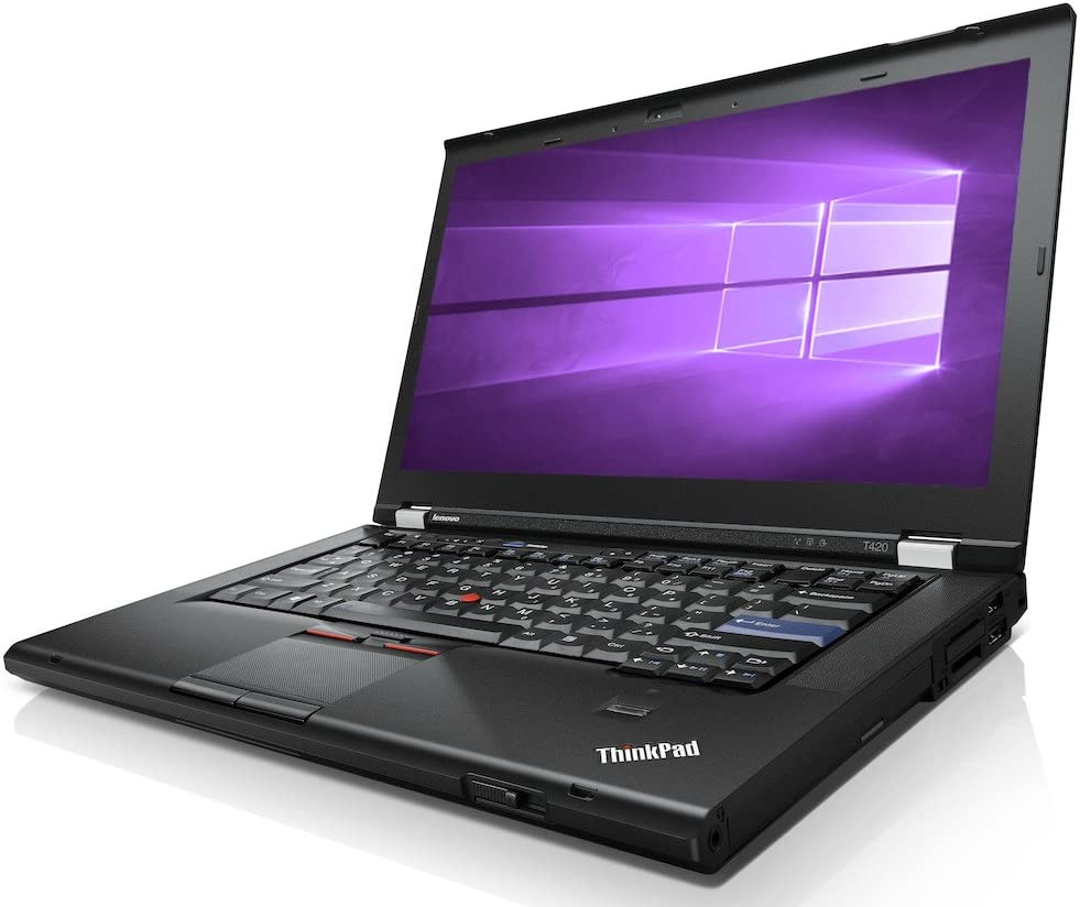 Lenovo ThinkPad T420 Laptop WEBCAM - Intel Core i5 2.50ghz - 4GB DDR3 - 320GB - DVDRW - Windows 10 Pro 64bit - (Renewed)