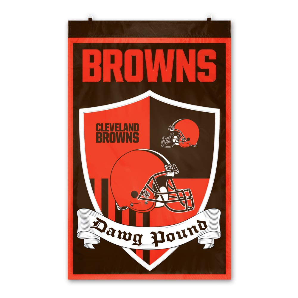 Party Animal Cleveland Browns Shield Banner by Party Animal