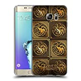 Official HBO Game Of Thrones Targaryen Golden Sigils Soft Gel Case for Samsung Galaxy S6 edge+ / Plus