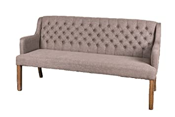 new arrival 12e0b b6e37 Peppermill Interiors BUTTONED SOFA UPHOLSTERED DINING BENCH ...