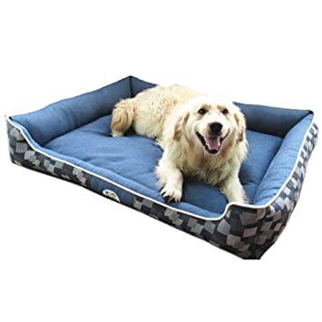 Suministros para Mascotas Cama para Mascotas - Casa para Mascotas casa de algodón de Mezclilla Impermeable
