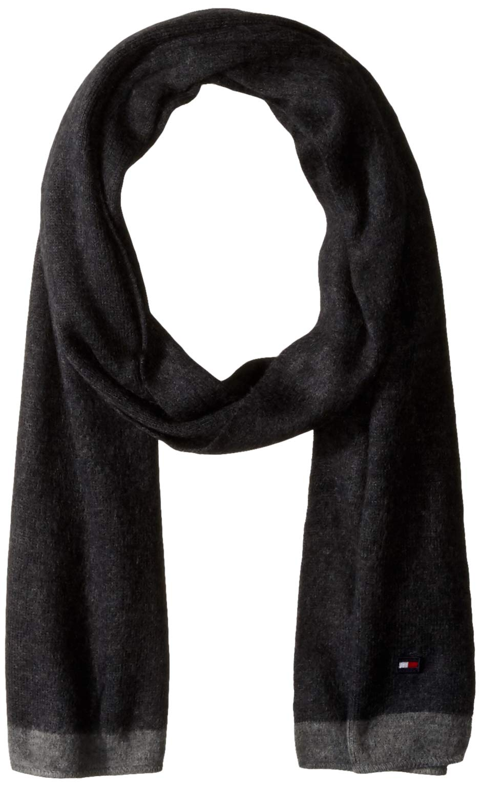 Tommy Hilfiger Men's Winter Scarf, Storm, One Size