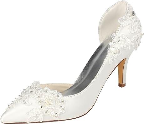 Emily Bridal Ivory Wedding Shoes