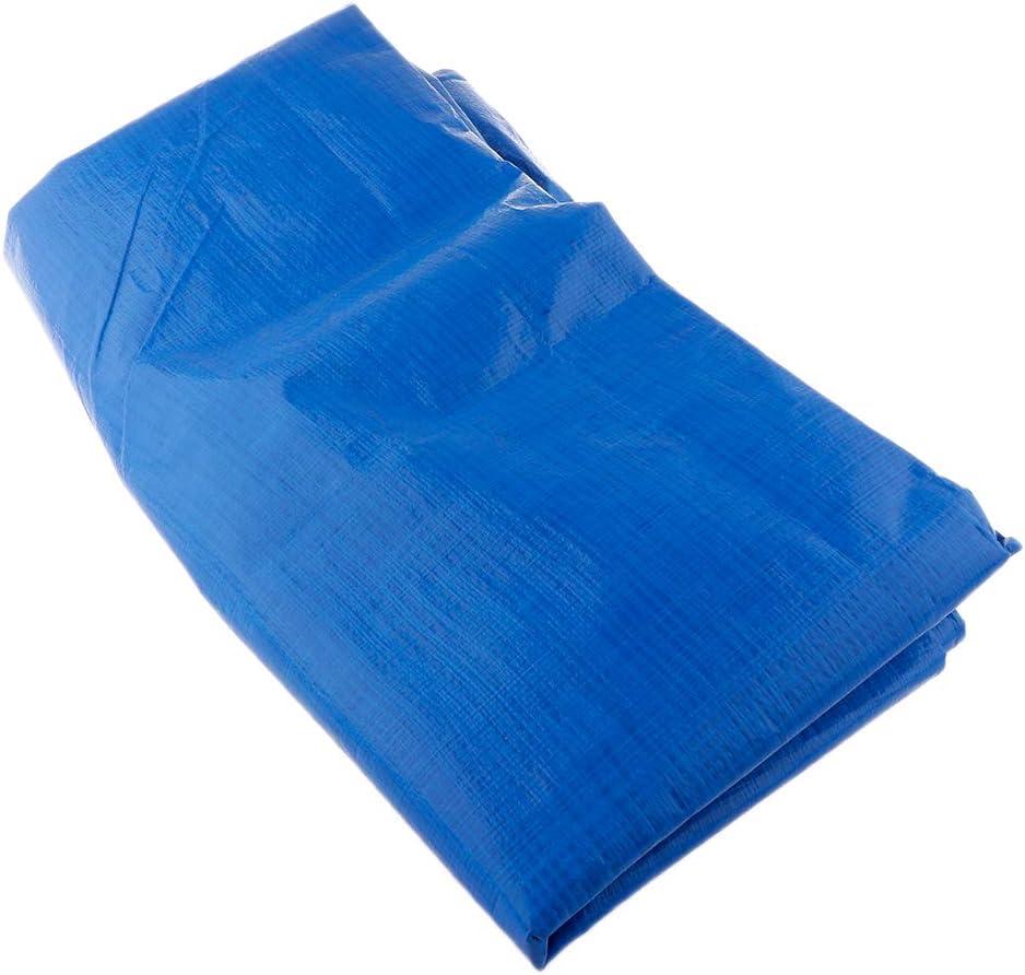 H HILABEE Toldo Impermeable De La Tienda De La Lona De La Lona para Acampar De La Máquina del Barco del Coche, Anti-UV - Azul2