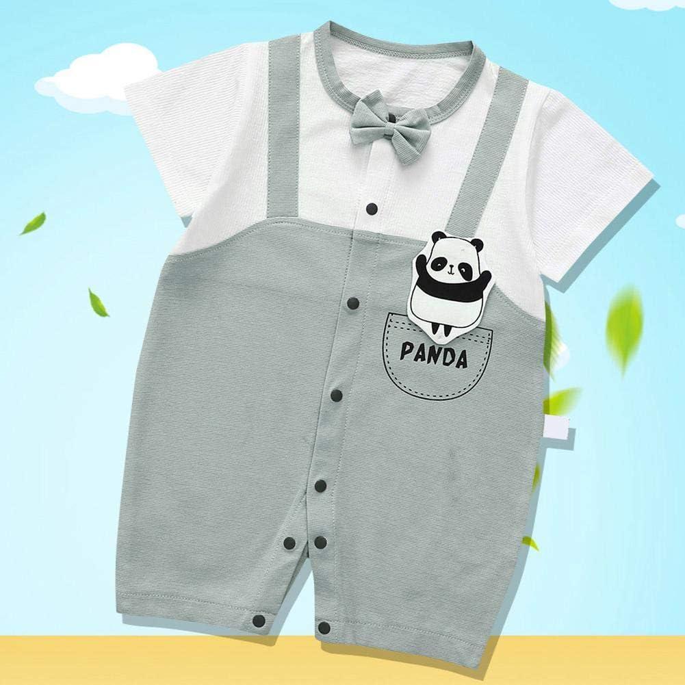 73-Cian Beb/é verano manga corta mono suave algod/ón Onesies para Toddler Unisex Romper para beb/és ni/ños ni/ñas