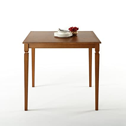 Merveilleux Zinus Counter Height Square Wood Dining Table/Table Only
