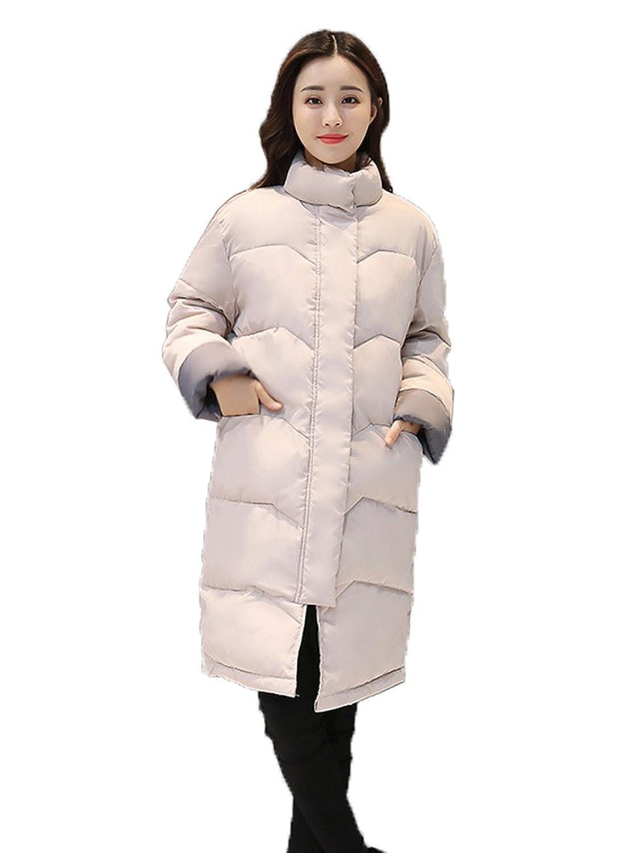 COMVIP Fashion Damen Wintermantel Winterjacke übergangsjacke