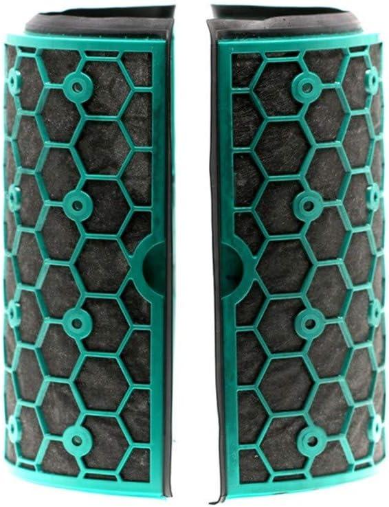 CAOQAO - Filtro de carbón Activo de Dos etapas Ealed 360 para Dyson TP04 / HP04 / DP04 / TP05 / HP05 S, Nuevo Kit de Accesorios de Repuesto: Amazon.es: Hogar