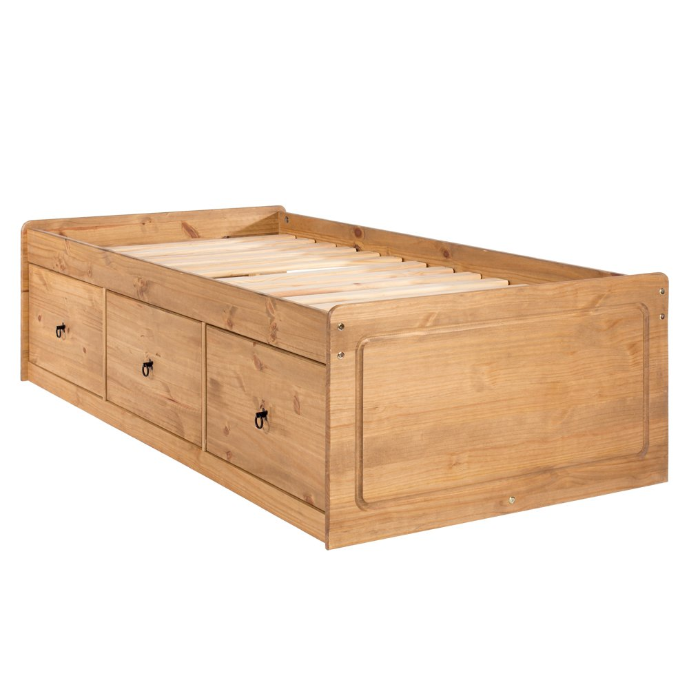 Core Products Cabin Bed Single Wood Antique Wax