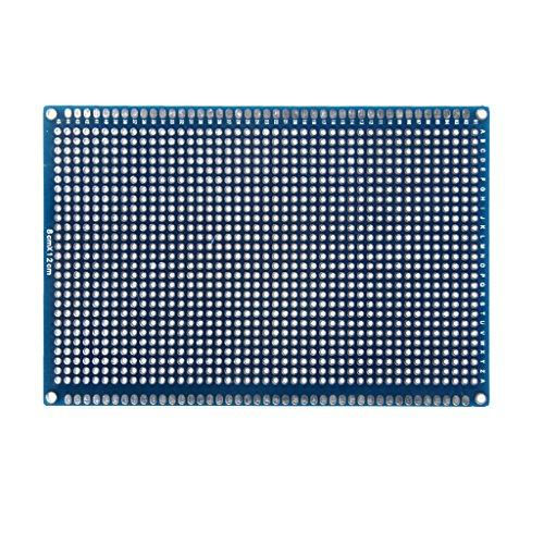 8 X 12 Cm Doble Lado Prototipo PCB Placa De Circuito Impreso Universal De Tarjeta De Clavija