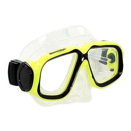 ab41d36f6c7 Deep Blue Gear - Kid s Prescription Diving Snorkeling Mask (Maui Jr.) with  Optical