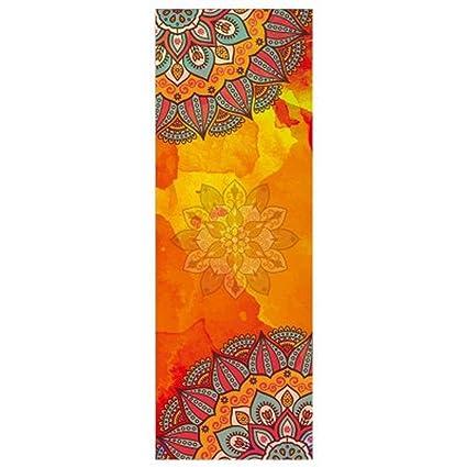 Esterilla de yoga antideslizante, diseño de estampado ...