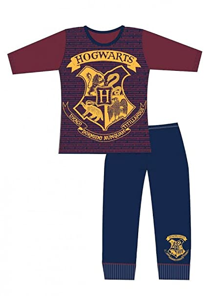 Harry Potter, - Pijama - para niña Maroon & Navy