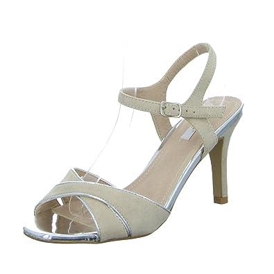 SDS 1277-GL Damen Sandalette Eleganter Boden