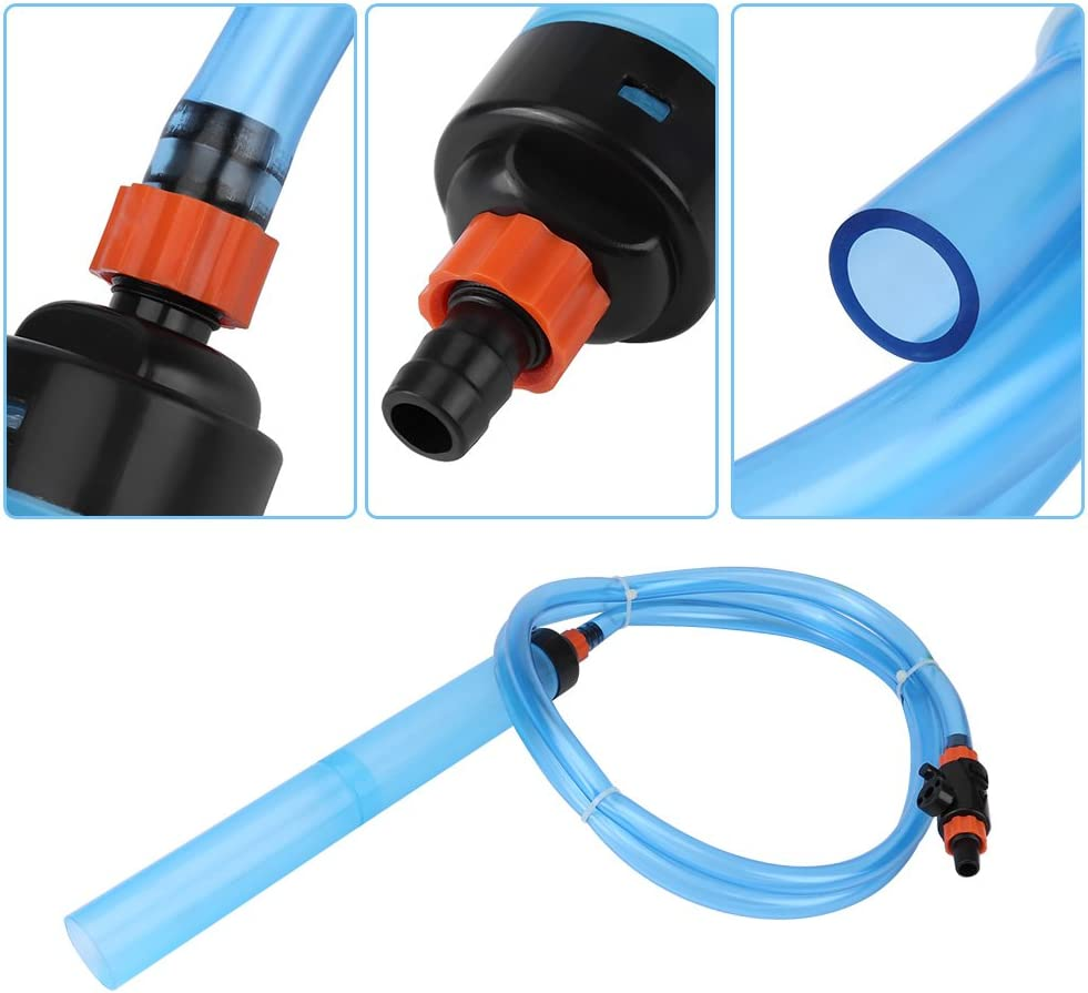 Yosoo Fish Tank Siphon Semi-Automatic Water Changer Aquarium Sand Washing Cleaner Filter