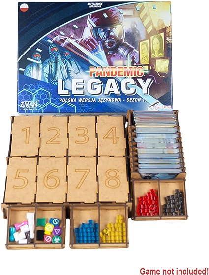 docsmagic.de Organizer Insert for A Game of Thrones Box - Encarte: Amazon.es: Juguetes y juegos