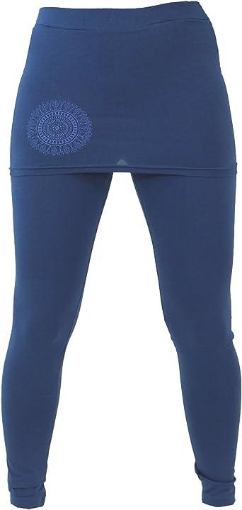 Guru-Shop - Leggings de yoga con minifalda Bio BW Yogi, algodón ...