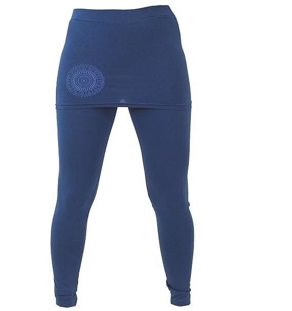 GURU-SHOP, Pantalón de Yoga, Polainas con Minifalda Bio BW ...