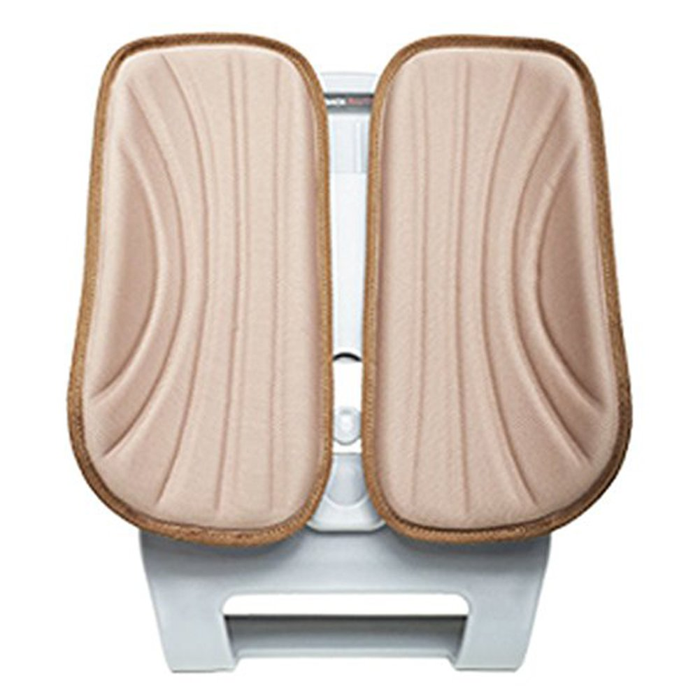 Duoback-OEM Ergonomic Driving Back Support Backrest Lumbar Supports Pillow Vehicle Posture correction Car Seat (Beige)