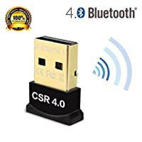 Dailychoices Mini USB 2.0 Bluetooth V4.0 Dongle Wireless Adapter For PC Laptop 3Mbps Speed