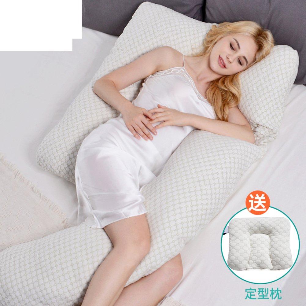 JGXVUYKDFV Schwangerschaft Kissen/Taille, Side Sleeping Kissen/u-Kissen/multifunktionale Kissen/Kissen/schlafen auf der Seite des Kissen-A