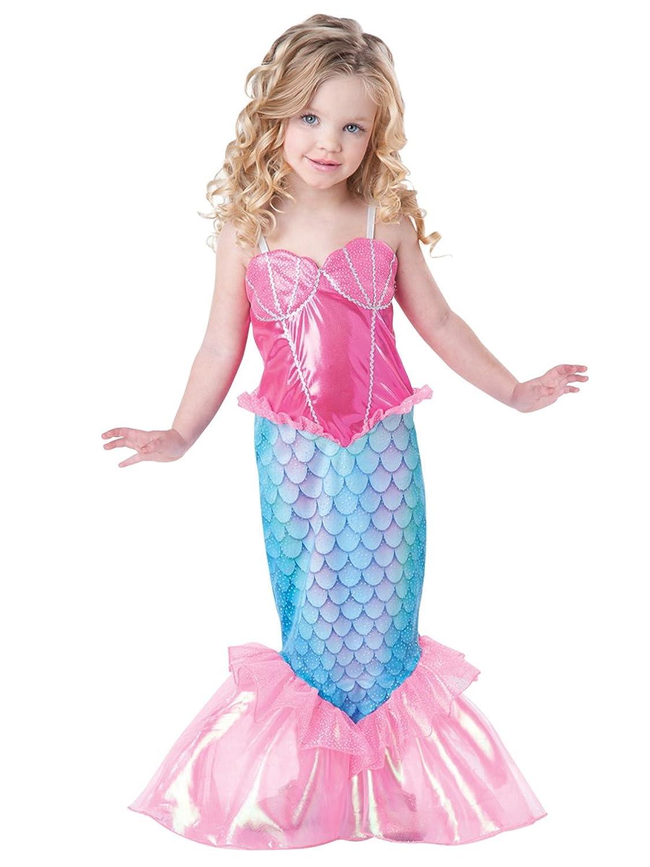 Amazon.com: InCharacter Baby Girl\'s Mermaid Costume: Clothing