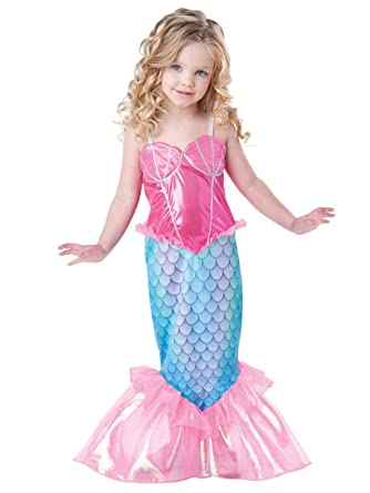 InCharacter Baby Girlu0027s Mermaid Costume Pink/Turquoise ...  sc 1 st  Amazon.com & Amazon.com: InCharacter Baby Girlu0027s Mermaid Costume: Clothing