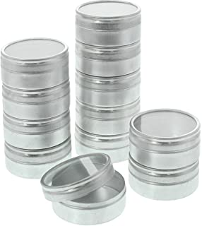 SE 870DB M Aluminum Storage Container Set 20 Piece 1 14 Silver