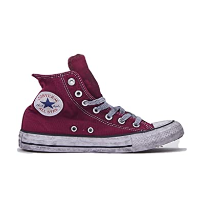 chaussure femme converse bordeau