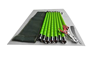 HISIN 26 Feet Tree Pole Pruner Lawn Garden Hand Tools Ttimmer with Sissor Cut Yard Garden Tool