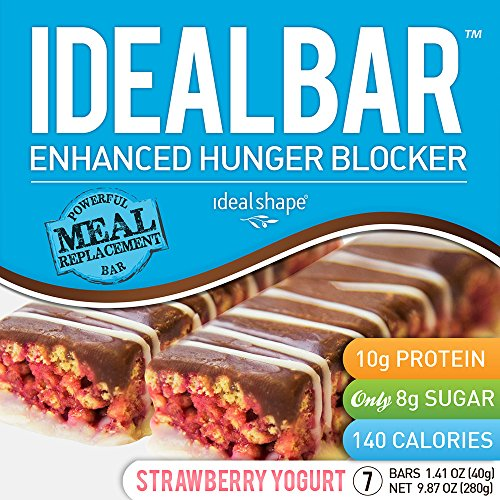 IdealBar - Barres de substituts de repas (Strawberry Yogurt)
