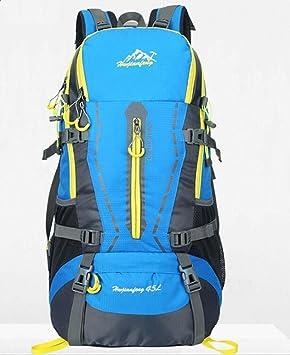 ZMZX* mochila Outdoor Sports Kit mochila escalada profesional de hombres y mujeres 45L , azul: Amazon.es: Deportes y aire libre