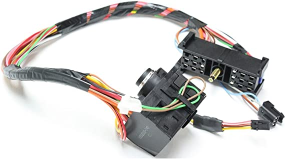 Ignition Switch compatible with Chevrolet C//K Full Size Pickup 98-01 3 Electrical Connectors 23 Terminals Male Connector