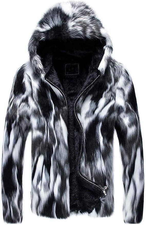 veste homme avec capuche fourrure pas cher