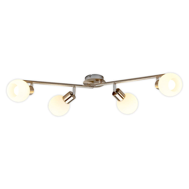 LED Lámpara de techo Elaina (Moderno) en Gris hecho de ...