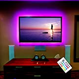 tv accent lighting. Bias TV Backlight USB LED Kit For HDMI TV, 55 Inch Lights With Remote Tv Accent Lighting