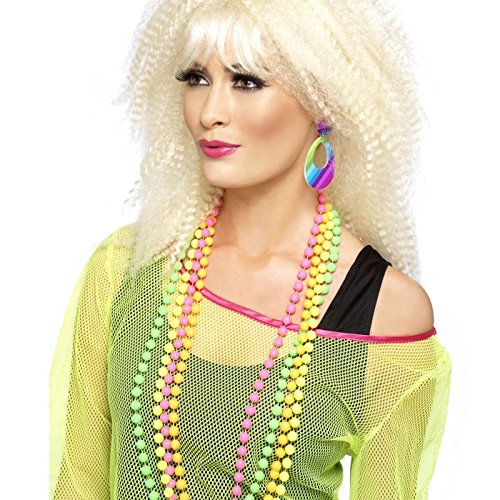 Smiffys 21175 - Pendant Earring - (Earrings 80s Style)
