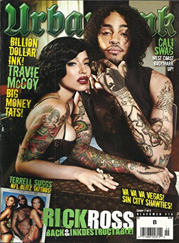Urban Ink Magazine #16 Terrell Suggs Cover Rick Ross, Travie McCoy, West Coast Bodymark Up and More